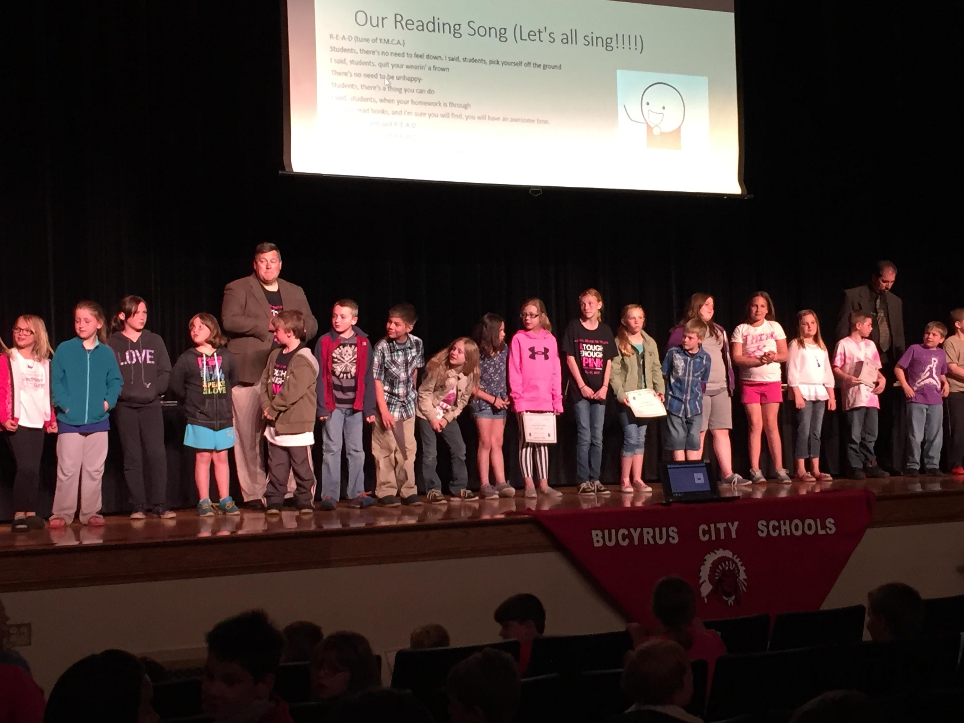 Bucyrus BOE reading pledge 05-21-15