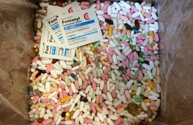 Sevierville's drug take-back nets 32 pounds of medication